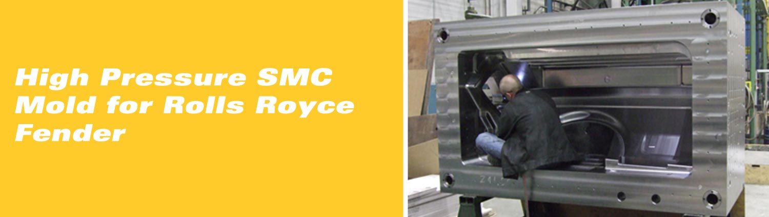 High Pressure SMC Mold for Rolls Royce Fender