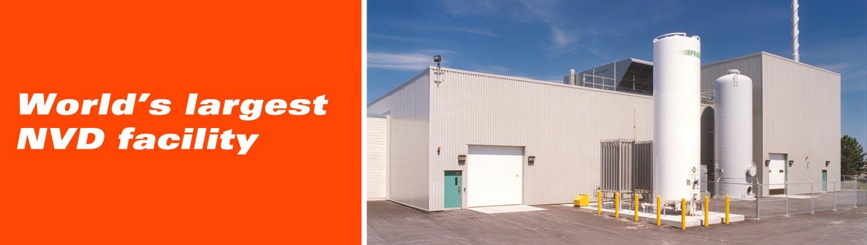 World's largest NVD facility