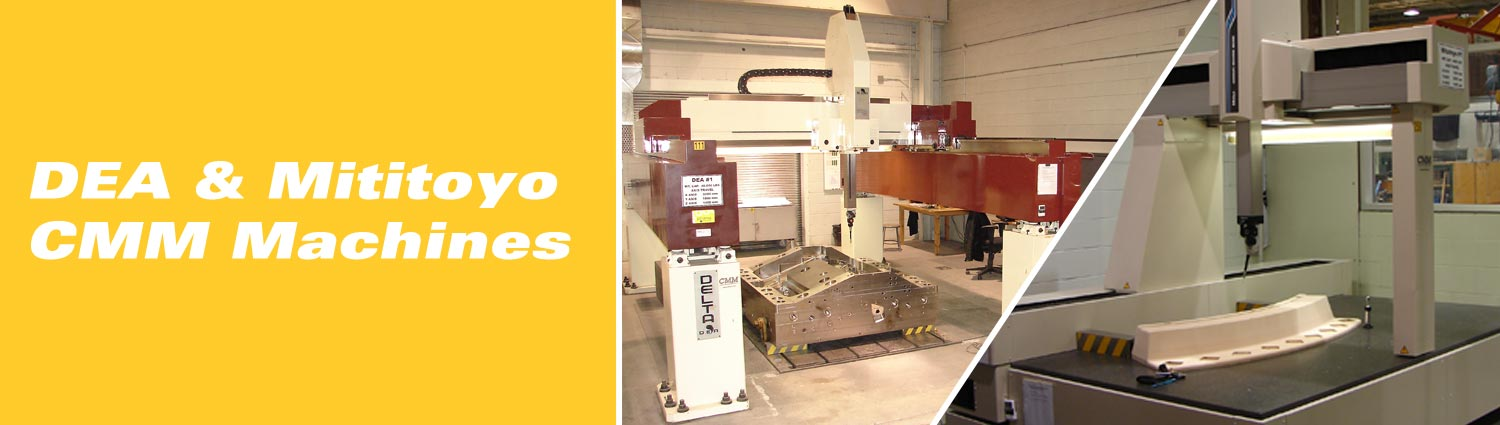 DEA & Mititoyo CMM Machines