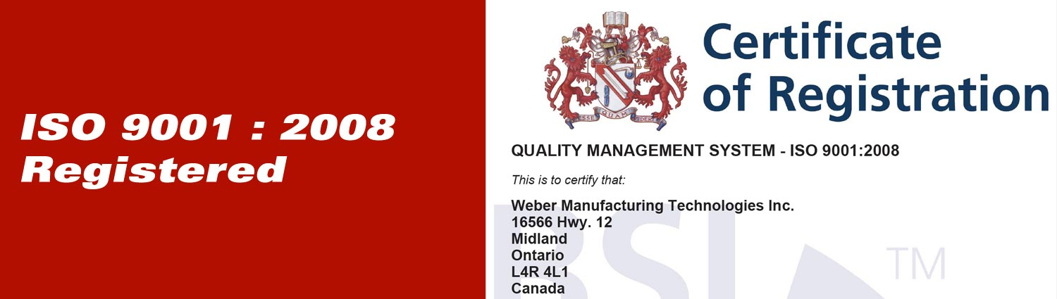 ISO 9001 : 2008 Registered
