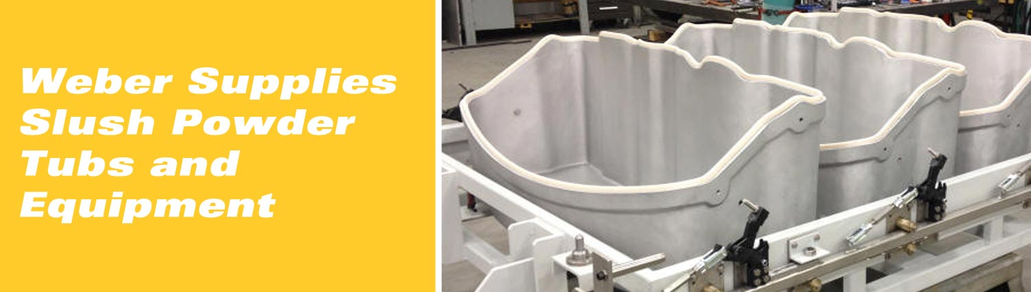 Weber Supplies Slush Powder Tubs and Equipment