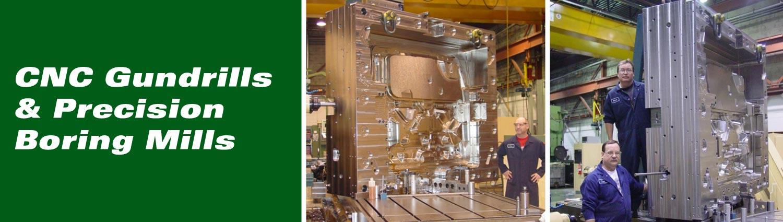 CNC Gundrills & Precision Boring Mills